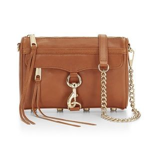 Rebecca Minkoff Crossbody Carmel leather bag